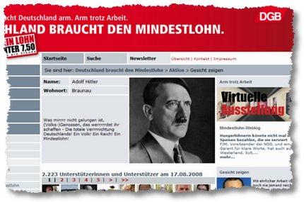 Humor wie '33: Hitler und der Mindestlohn